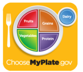 Visit ChooseMyPlate.gov for healthy eating tips about milk and dairy foods and other food group-foods