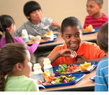 Kids who learn nutrition in the classroom make healthier choices in the school cafeteria. Learn more at HealthyEating.org