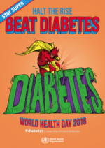 Halt the rise BEAT DIABETES - World Health Day 2016