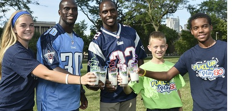 Fuel Up to Play 60 players + students