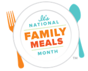 National Family Meals Month Logo